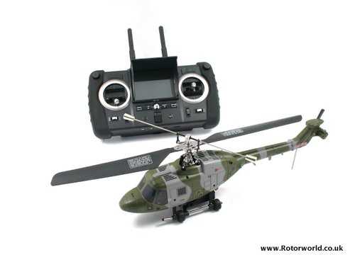 Rotorworld | British Army Lynx heli with FPV